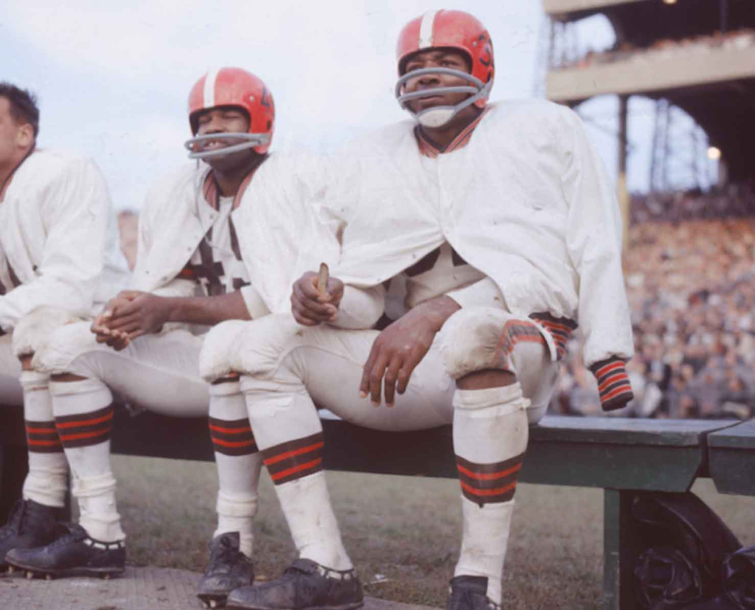 Jim Brown, running back: giocatori football americano
