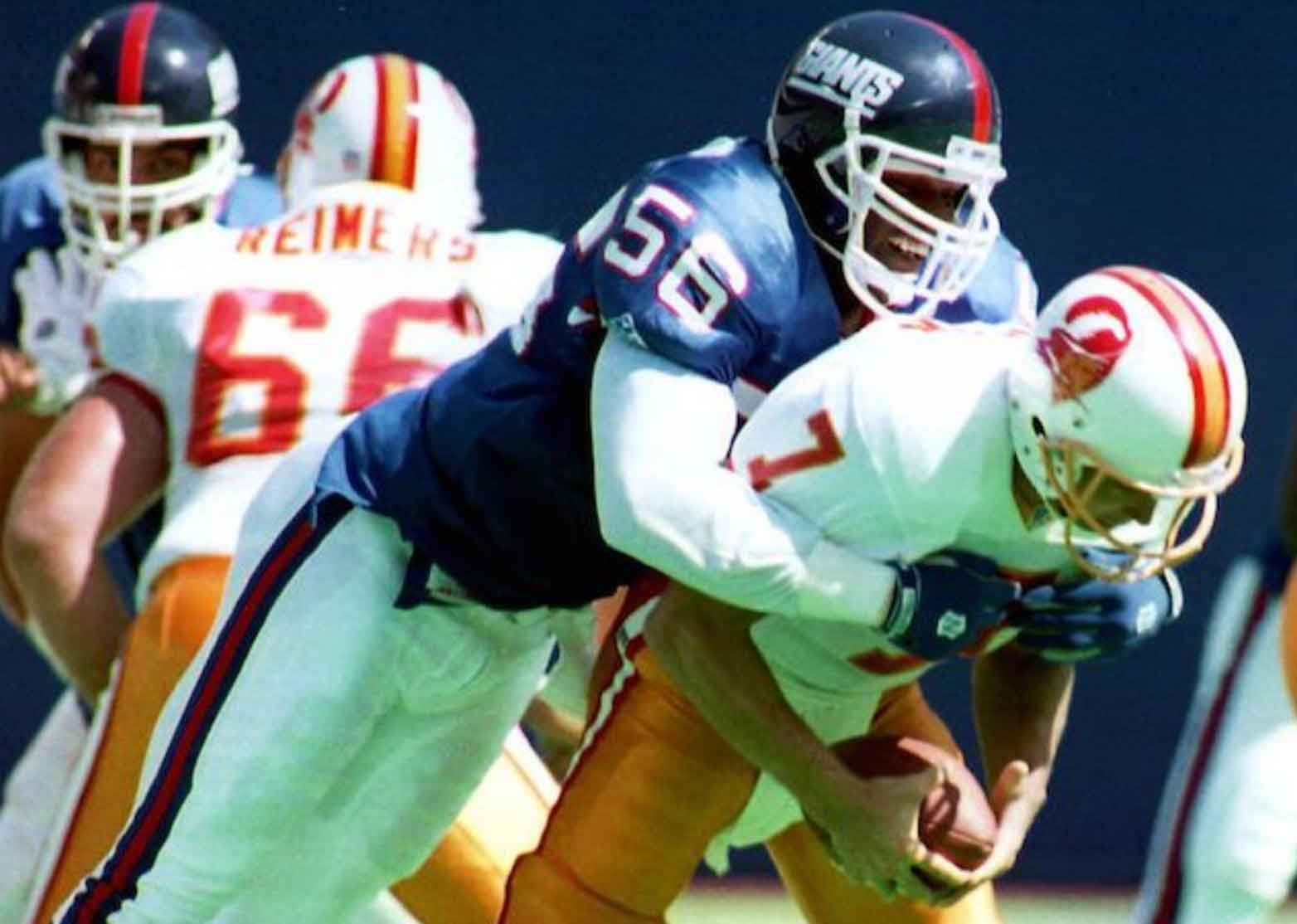 Lawrence Taylor, linebacker: giocatori football americano